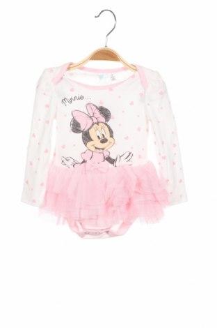 Детска рокля Disney, Размер 6-9m/ 68-74 см, Цвят Розов, 65% полиестер, 35% памук, Цена 31,28лв.