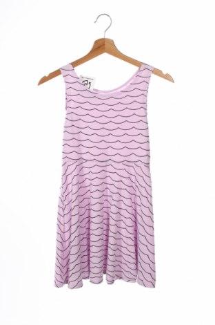 Детска рокля H&M, Размер 8-9y/ 134-140 см, Цвят Лилав, Цена 19,44лв.