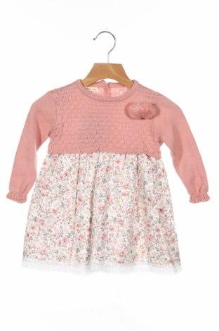 Детска рокля Little Celebs, Размер 2-3y/ 98-104 см, Цвят Розов, Памук, Цена 36,75лв.