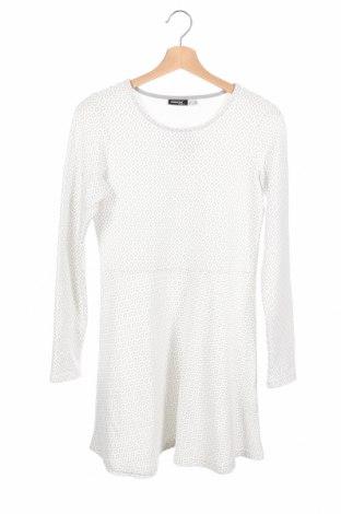 Детска рокля Pepperts!, Размер 12-13y/ 158-164 см, Цвят Бял, 57% памук, 39% полиестер, 4% еластан, Цена 6,30лв.