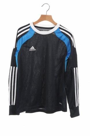 Детска спортна блуза Adidas, Размер 10-11y/ 146-152 см, Цвят Син, Полиестер, Цена 9,98лв.