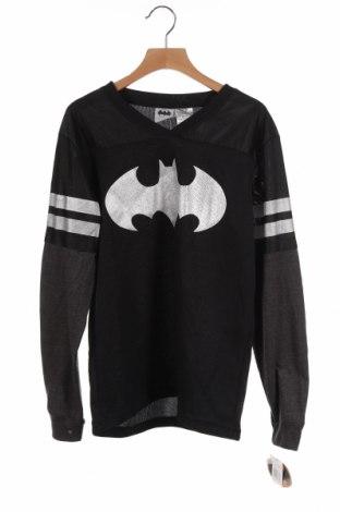 Детска спортна блуза Batman, Размер 12-13y/ 158-164 см, Цвят Черен, Полиестер, Цена 24,36лв.