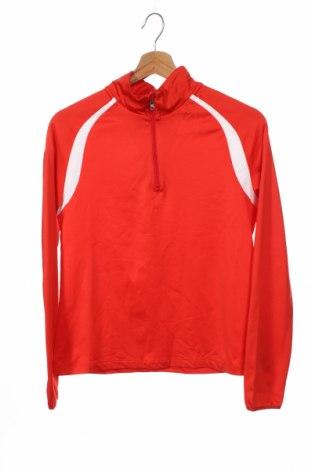 Детска спортна блуза Crane, Размер 12-13y/ 158-164 см, Цвят Червен, 92% полиестер, 8% еластан, Цена 14,28лв.
