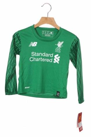 Детска спортна блуза New Balance, Размер 18-24m/ 86-98 см, Цвят Зелен, Полиестер, Цена 38,35лв.