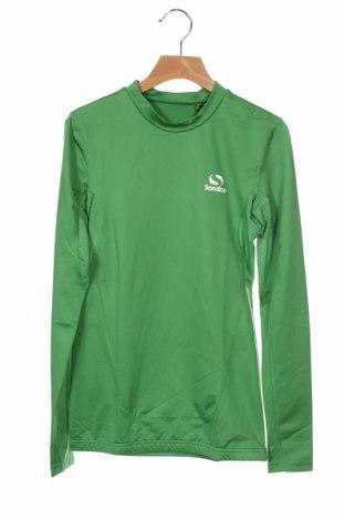 Детска спортна блуза Sondico, Размер 12-13y/ 158-164 см, Цвят Зелен, 92% полиамид, 8% еластан, Цена 27,00лв.