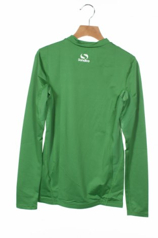 Детска спортна блуза Sondico, Размер 12-13y/ 158-164 см, Цвят Зелен, 92% полиамид, 8% еластан, Цена 22,68лв.