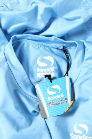 Детска спортна блуза Sondico, Размер 12-13y/ 158-164 см, Цвят Син, 92% полиамид, 8% еластан, Цена 18,00лв.