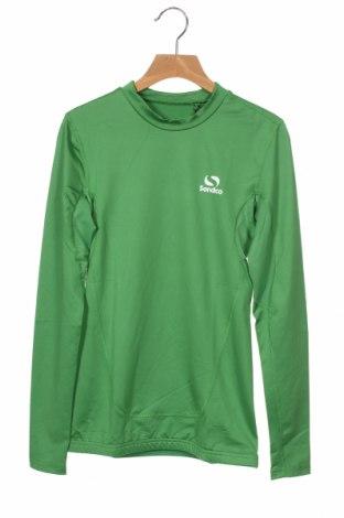 Детска спортна блуза Sondico, Размер 9-10y/ 140-146 см, Цвят Зелен, 92% полиамид, 8% еластан, Цена 22,68лв.