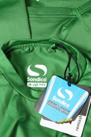 Детска спортна блуза Sondico, Размер 9-10y/ 140-146 см, Цвят Зелен, 92% полиамид, 8% еластан, Цена 27,00лв.
