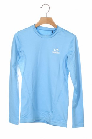 Детска спортна блуза Sondico, Размер 11-12y/ 152-158 см, Цвят Син, 92% полиамид, 8% еластан, Цена 16,20лв.