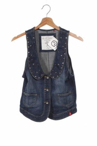 Dziecięca kamizelka Esprit, Rozmiar 15-18y/ 170-176 cm, Kolor Niebieski, 99% bawełna, 1% elastyna, Cena 18,90zł