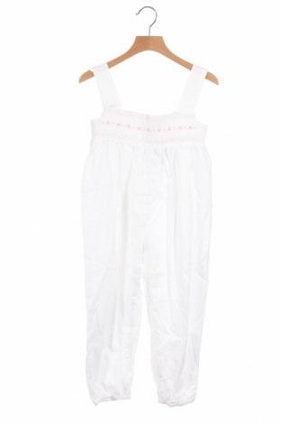 Παιδική σαλοπέτα Lola Palacios, Μέγεθος 6-7y/ 122-128 εκ., Χρώμα Λευκό, Βαμβάκι, Τιμή 20,10€