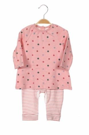 Dziecięcy kombinezon Primark, Rozmiar 3-6m/ 62-68 cm, Kolor Różowy, Bawełna, Cena 63,00zł