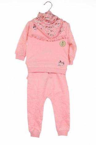 Παιδικό σύνολο Crafted, Μέγεθος 9-12m/ 74-80 εκ., Χρώμα Ρόζ , 100% βαμβάκι, Τιμή 20,10€