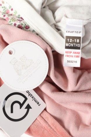 Детски комплект Toi & Moi, Размер 12-18m/ 80-86 см, Цвят Розов, Памук, Цена 31,05лв.