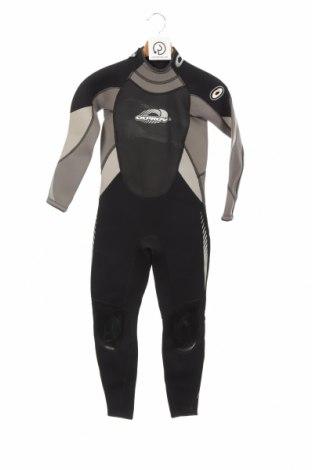 Dziecięcy strój kąpielowy do sportów wodnych. Osprey, Rozmiar 7-8y/ 128-134 cm, Kolor Czarny, 75% neopren, 25% poliamid, Cena 469,63zł
