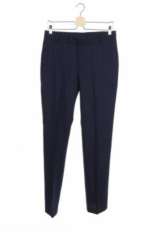 Dziecięce spodnie Hugo Boss, Rozmiar 15-18y/ 170-176 cm, Kolor Niebieski, Wełna, Cena 278,25zł