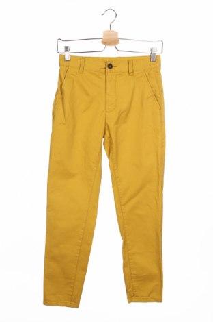 Dziecięce spodnie Reserved, Rozmiar 11-12y/ 152-158 cm, Kolor Żółty, Bawełna, Cena 67,93zł