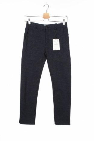 Dziecięce spodnie Zara, Rozmiar 11-12y/ 152-158 cm, Kolor Niebieski, 72% poliester, 26% bawełna, 2% elastyna, Cena 104,98zł