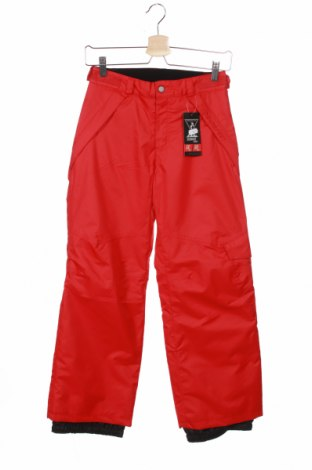 Детски панталон за зимни спортове, Размер 10-11y/ 146-152 см, Цвят Червен, Цена 53,82лв.