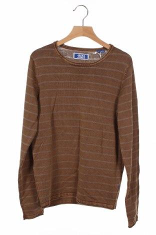 Παιδικό πουλόβερ Jack & Jones, Μέγεθος 10-11y/ 146-152 εκ., Χρώμα Καφέ, 92% βαμβάκι, 8%ακρυλικό, Τιμή 30,41€