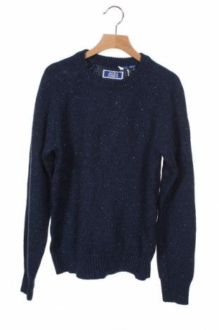 Παιδικό πουλόβερ Jack & Jones, Μέγεθος 10-11y/ 146-152 εκ., Χρώμα Μπλέ, Βαμβάκι, Τιμή 30,41€