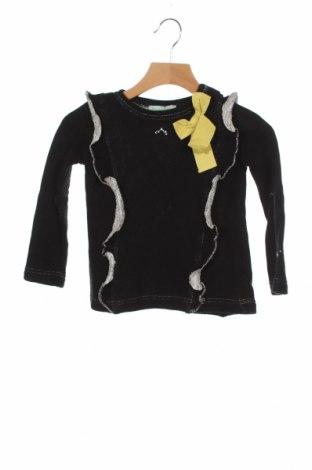 Детски пуловер Nanos, Размер 2-3y/ 98-104 см, Цвят Черен, 70% памук, 30% полиестер, Цена 33,82лв.