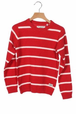 Παιδικό πουλόβερ Produkt by Jack & Jones, Μέγεθος 6-7y/ 122-128 εκ., Χρώμα Κόκκινο, Βαμβάκι, Τιμή 26,80€