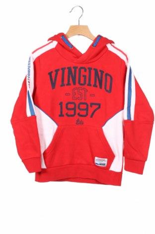 Παιδικό φούτερ Vingino, Μέγεθος 7-8y/ 128-134 εκ., Χρώμα Κόκκινο, Τιμή 17,78€