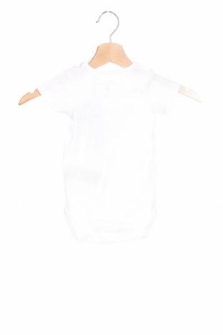 Детско боди Name It, Размер 6-9m/ 68-74 см, Цвят Бял, 95% памук, 5% еластан, Цена 21,42лв.
