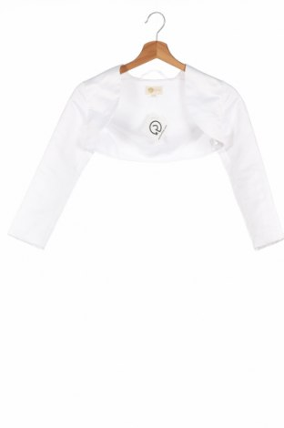 Детско болеро E girls, Размер 7-8y/ 128-134 см, Цвят Бял, 100% полиестер, Цена 27,00лв.