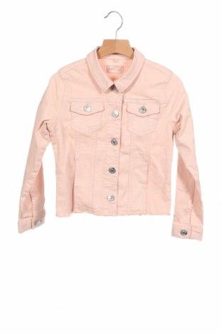 Детско дънково яке Only, Размер 7-8y/ 128-134 см, Цвят Розов, 36% памук, 35% полиестер, 28% вискоза, 1% еластан, Цена 31,90лв.