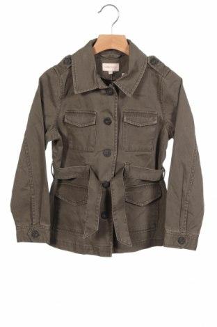 Детско дънково яке Only, Размер 7-8y/ 128-134 см, Цвят Зелен, Памук, Цена 37,70лв.