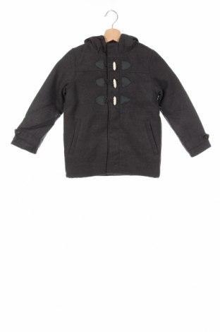 Παιδικό παλτό Name It, Μέγεθος 4-5y/ 110-116 εκ., Χρώμα Γκρί, Πολυεστέρας, Τιμή 45,88€