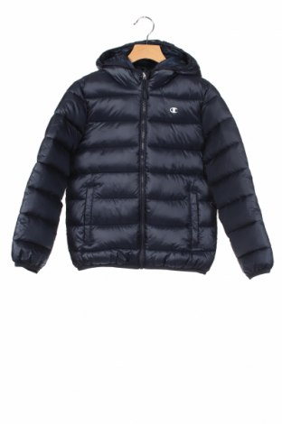Παιδικό μπουφάν Champion, Μέγεθος 7-8y/ 128-134 εκ., Χρώμα Μπλέ, Πολυεστέρας, Τιμή 44,33€