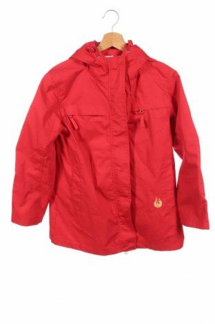 Детско яке Check This, Размер 11-12y/ 152-158 см, Цвят Червен, 65% полиестер, 35% памук, Цена 9,45лв.