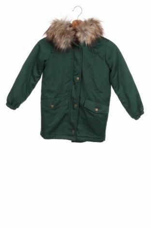 Παιδικό μπουφάν Only, Μέγεθος 7-8y/ 128-134 εκ., Χρώμα Πράσινο, 80% πολυεστέρας, 20% βαμβάκι, Τιμή 29,90€