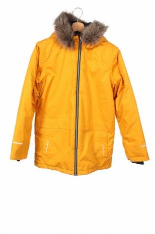 Παιδικό μπουφάν για χειμερινά σπο Name It, Μέγεθος 12-13y/ 158-164 εκ., Χρώμα Κίτρινο, Πολυεστέρας, Τιμή 39,18€