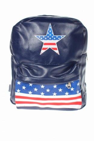 Δερμάτινη τσάντα, Χρώμα Μπλέ, Δερματίνη, Τιμή 15,91€