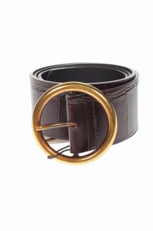 Ζώνη Massimo Dutti, Χρώμα Καφέ, Γνήσιο δέρμα, Τιμή 34,41€