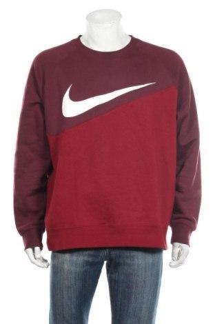 Ανδρική μπλούζα Nike, Μέγεθος XL, Χρώμα Κόκκινο, 80% βαμβάκι, 20% πολυεστέρας, Τιμή 35,57€