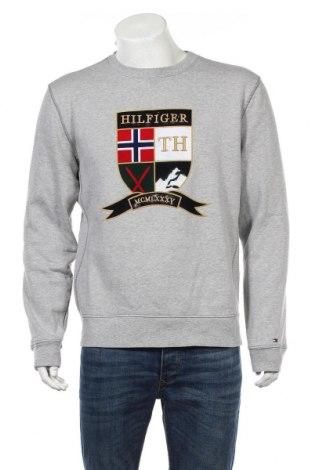 Męska bluzka Tommy Hilfiger, Rozmiar XL, Kolor Szary, 85% bawełna, 15% poliester, Cena 172,50zł