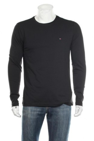 Ανδρική μπλούζα Tommy Hilfiger, Μέγεθος L, Χρώμα Μαύρο, 96% βαμβάκι, 4% ελαστάνη, Τιμή 34,41€