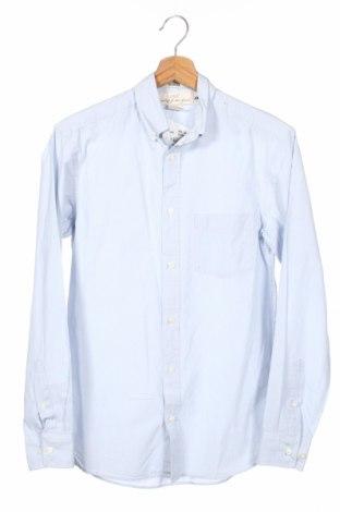 Męska koszula H&M L.o.g.g, Rozmiar XS, Kolor Niebieski, Bawełna, Cena 57,00zł