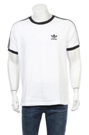 Męski T-shirt Adidas, Rozmiar L, Kolor Biały, 100% bawełna, Cena 129,38zł