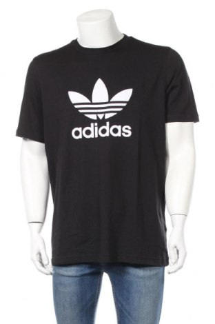 Męski T-shirt Adidas Originals, Rozmiar L, Kolor Czarny, Bawełna, Cena 129,38zł