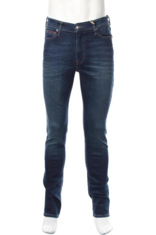 Мъжки дънки Tommy Hilfiger, Размер M, Цвят Син, 91% памук, 7% полиестер, 2% еластан, Цена 122,85лв.