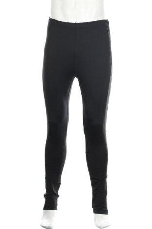 Męskie legginsy, Rozmiar XL, Kolor Czarny, 90% poliester, 10% elastyna, Cena 50,40zł
