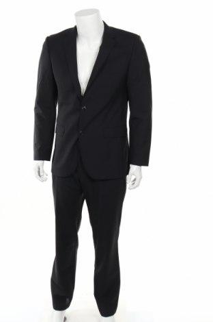 Ανδρικό κοστούμι Esprit, Μέγεθος M, Χρώμα Μαύρο, 50% μαλλί, 50% πολυεστέρας, Τιμή 34,74€