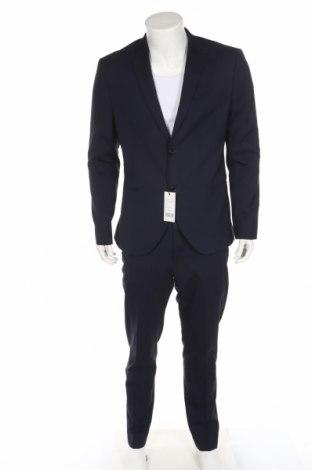 Ανδρικό κοστούμι Isaac Dewhirst, Μέγεθος L, Χρώμα Μπλέ, 66% πολυεστέρας, 32% βισκόζη, Τιμή 58,13€